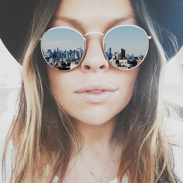 bastante agradable eb1d9 37504 Gafas de sol de espejo para mujer 2019